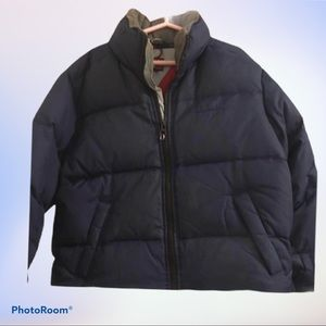 XS Tommy Hilfiger Navy Fall/Winter Puffer Jacket